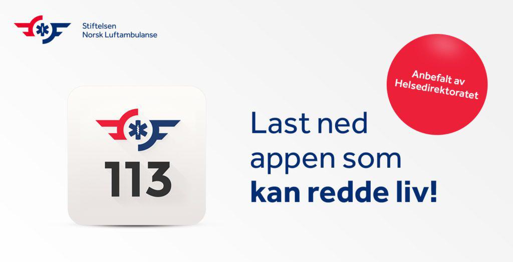 Bilde av annonse for å laste ned appen Hjelp 113