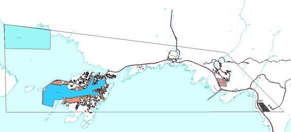 Regulering Sørvær havn