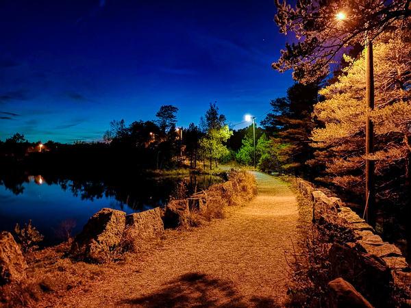 Natt i Vannbassengan