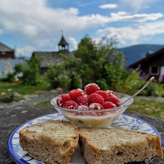 Lunsj i hagen - Mat fra Øyerfjellet