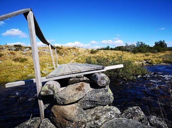 Fjelltur ved Skjelbua mot Lyngen