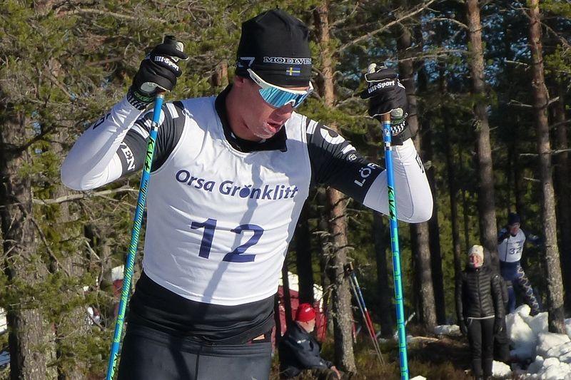 Emil Persson är ny i Lager 157 Ski Team och gör i vinter sin första säsong i Ski Classics. FOTO: Johan Trygg/Längd.se.