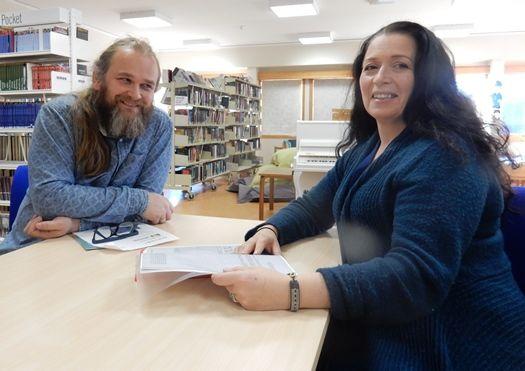Ole-Anders Seines og Sylvi Katrin Brandsæther