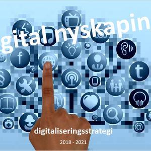 Illustrasjon forside digitaliseringsstrategien