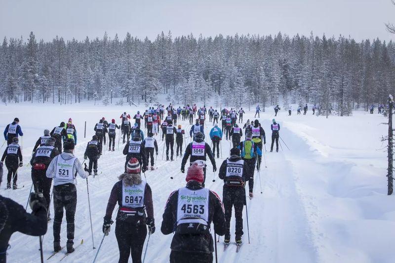 Vasaloppet inför gruppstarter var tionde minut i Öppet spår kommande vinter. FOTO: Vasaloppet.