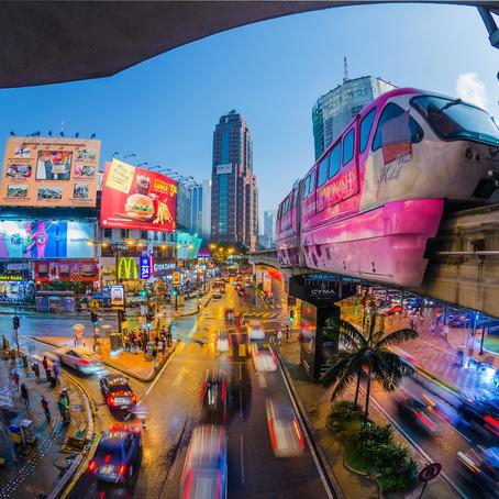Bukit Bintang, Central Kuala Lumpur, Malaysia