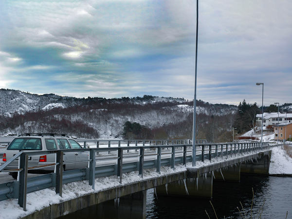 Vinter på veiene