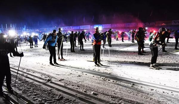 Vasaloppet lanserar nu Nattvasan 45 som ett komplement till Nattvasan 90. FOTO: Vasaloppet.