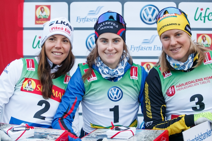 Charlotte, Ebba och Hanna. FOTO: Johan Axelsson/Bildbyrån.
