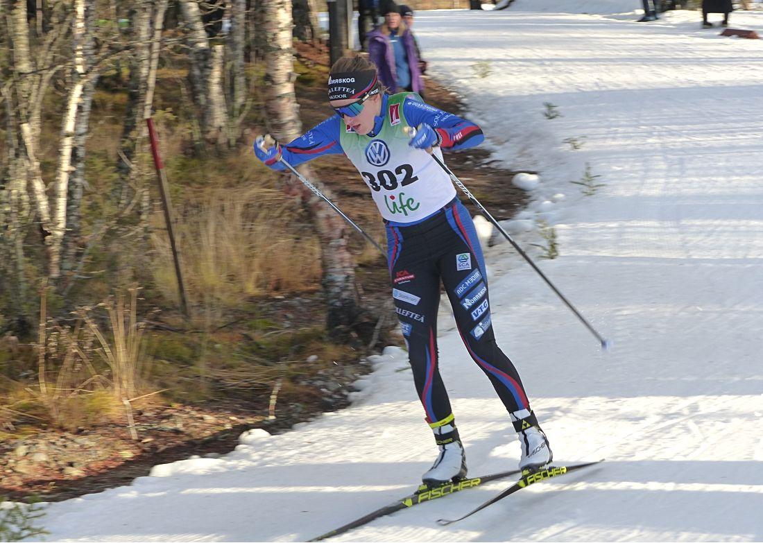 Tar Ebba Andersson en ny seger i morgon? FOTO: Johan Trygg/Längd.se.