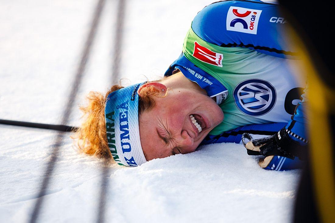 Res dig upp Moa. Du är uttagen till världscuppremiären i Ruka. FOTO: Johan Axelsson/Bildbyrån.