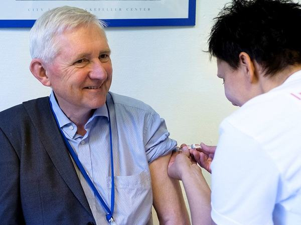 Illustrasjonsforo for influensavaksine. Foto fra fhi.no