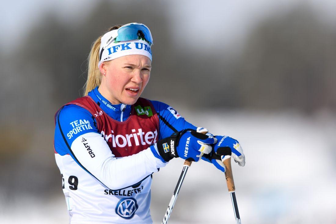 Jonna Sundling missade tävlingarna i Bruksvallarna på grund av förkylning och därmed världscuppremiären. Nu blir en av favoriterna vid Volkswagen cup i Idre i helgen. FOTO: Carl Sandin/Bildbyrån.