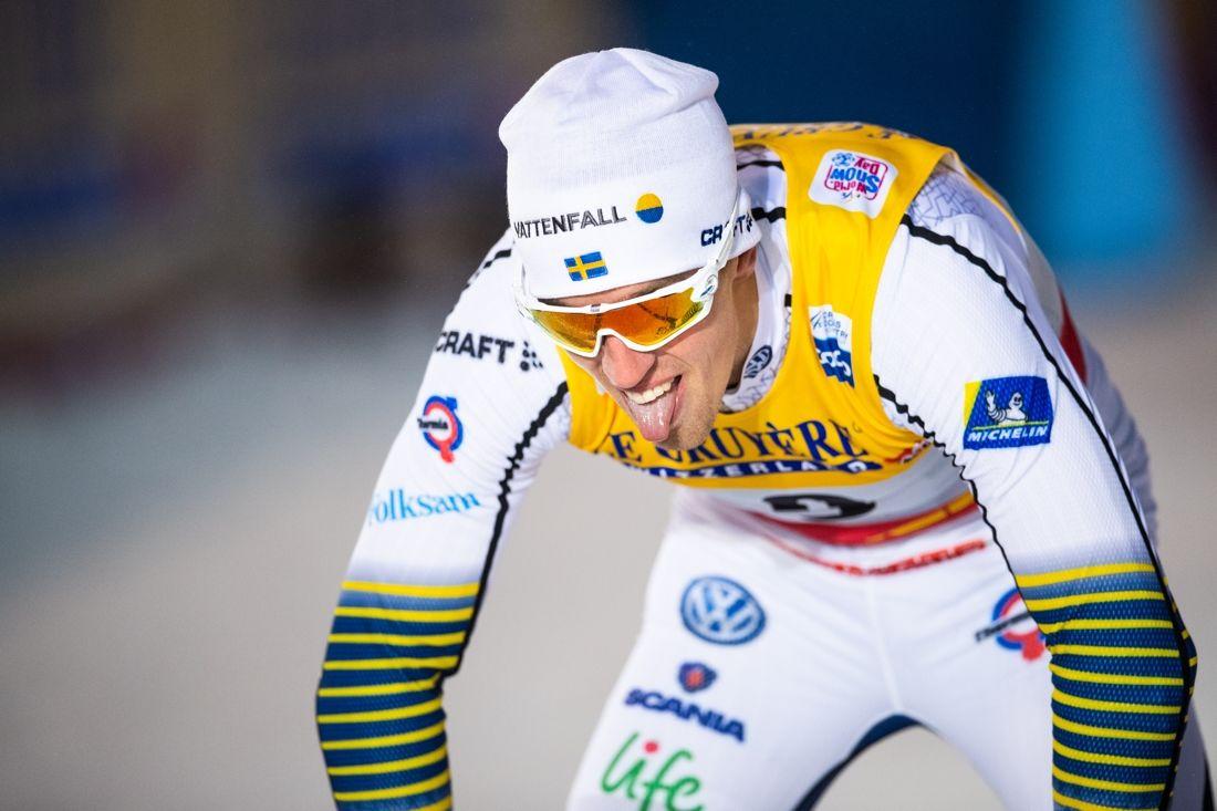 Calle Halfvarsson var nära final men fick nöja sig med sjunde plats på sprinten vid världscuppremiären i Ruka, Finland. FOTO: Carl Sandin/Bildbyrån.