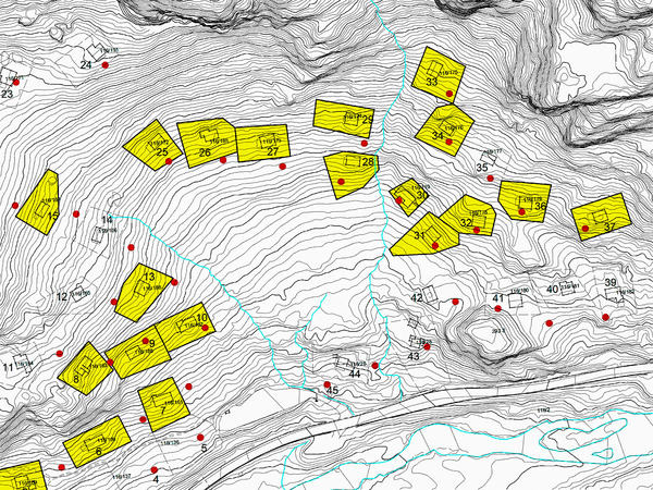 Kart Egelandsdalen