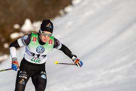 Vasaloppssegern gav Lina Korsgren stärkt självförtroende inför Ski Classics-säsongen som drar igång på fredag. Här är Lina i farten på den svenska säsongspremiären i Bruksvallarna. FOTO: Johan Axelsson/Bildbyrån.