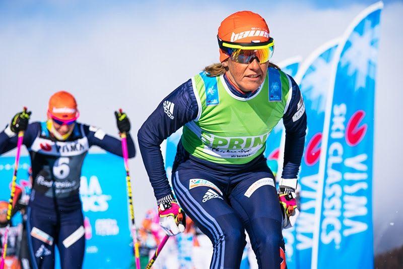 I helgen drar Visma Ski Classics igång för nionde säsong men en prologweekend i Livigno, Italien. Här ser vi Katerina Smutna under fjolårssäsongen. FOTO: Magnus Östh.