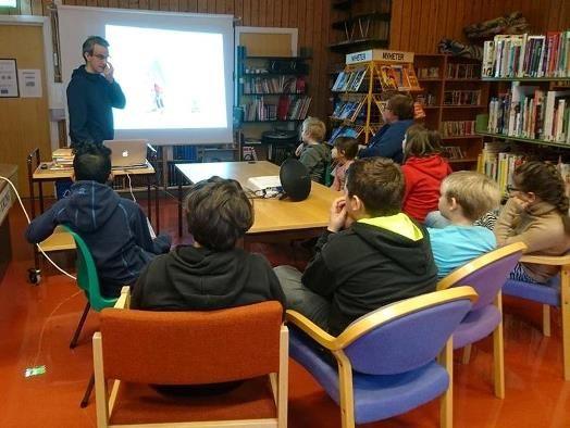Litteraturtime i barneskolen