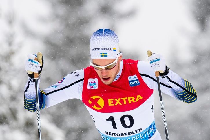 Viktor Thorn var bäste svensk som 18:e man. FOTO: Jon Olav Nesvold/Bildbyrån.