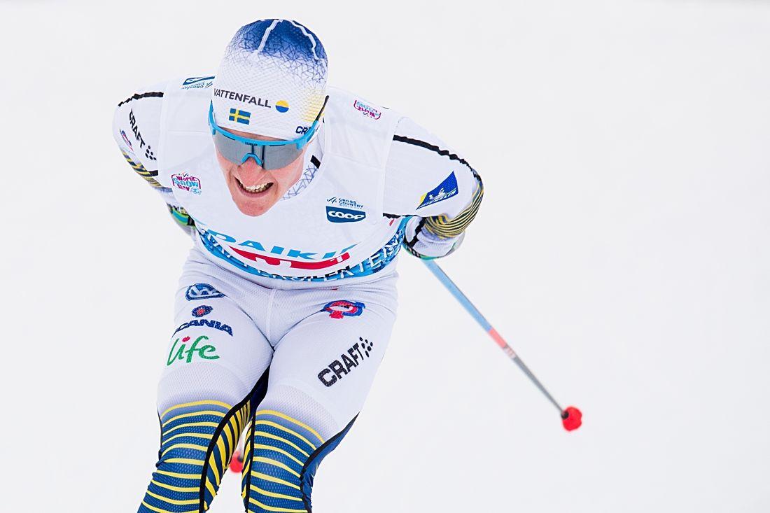 Jens Burman gjorde sitt bästa lopp för säsongen när han åkte in som tolva i Davos. FOTO: Jon Olav Nesvold/Bildbyrån.