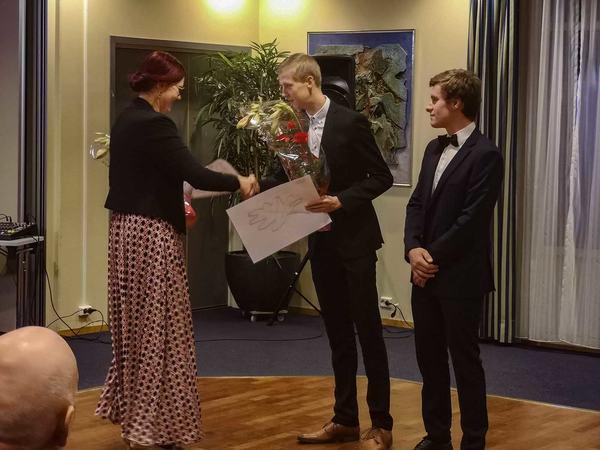 Utdeling av kulturstipend og kulturpris