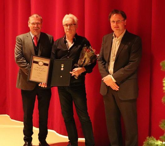 Medalje til Jan Ove Kristiansen