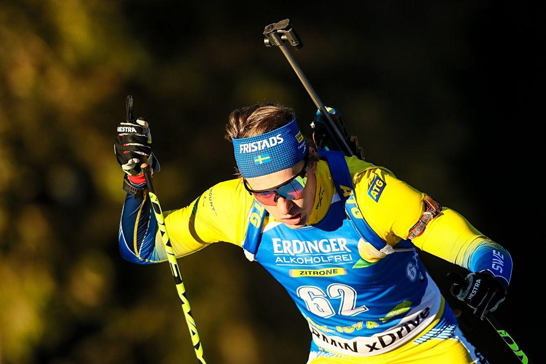 Martin Ponsiluoma skrällde med en tredjeplats på sprinten i Nove Mesto, Tjeckien. FOTO: GEPA pictures/Matic Klansek.