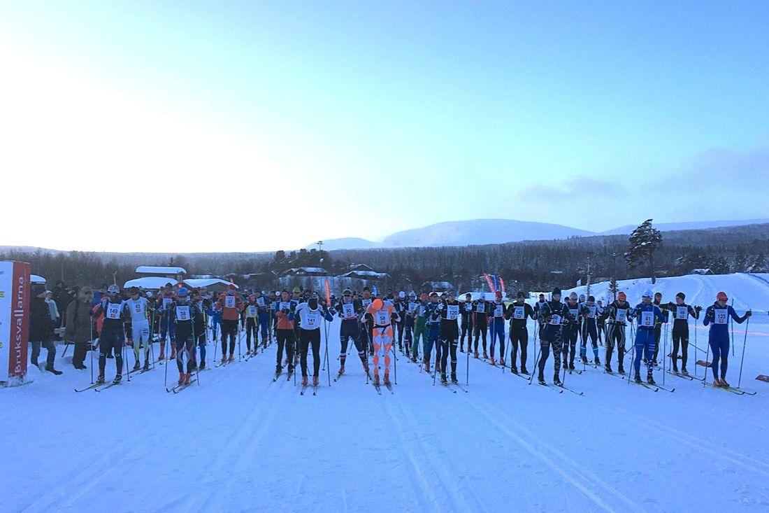 I morgon på trettondagen så går starten för fjärde upplagan av Bruksvallarna Nordic Ski Marathon. FOTO: Bruksvallarna Ramundberget Fjäll AB