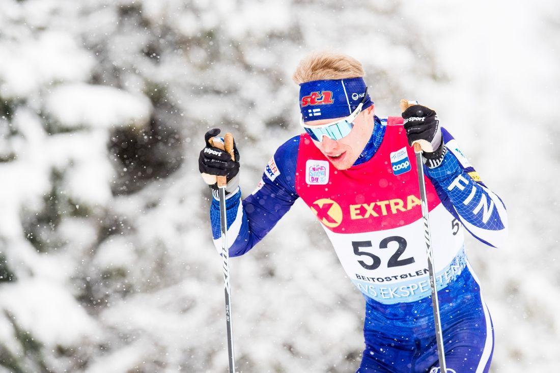 Iivo Niskanen vann 15 kilometer klassiskt vid Skandinaviska cupen hemma i Finland. FOTO: Jon Olav Nesvold/Bildbyrån.