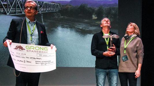 Vinnere av Hans Barlien-prisen 2018. Foto: Stein Nervik, NA.