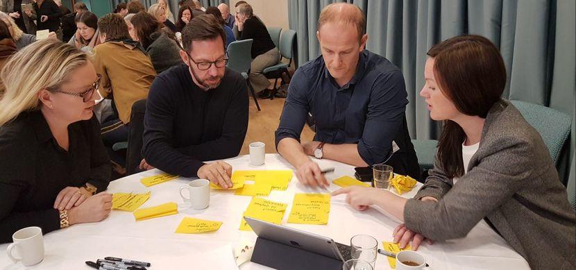 Visjonsarbeid ledersamling
