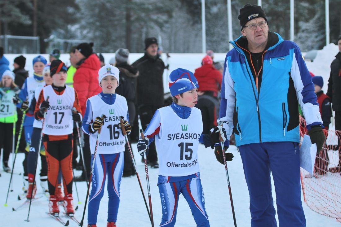 På Offerdalspropagandan kommande lördag kommer några utvalda ungdomsklasser få sina skidor gemensamt preparerade - utan fluor. FOTO: Offerdals SK.