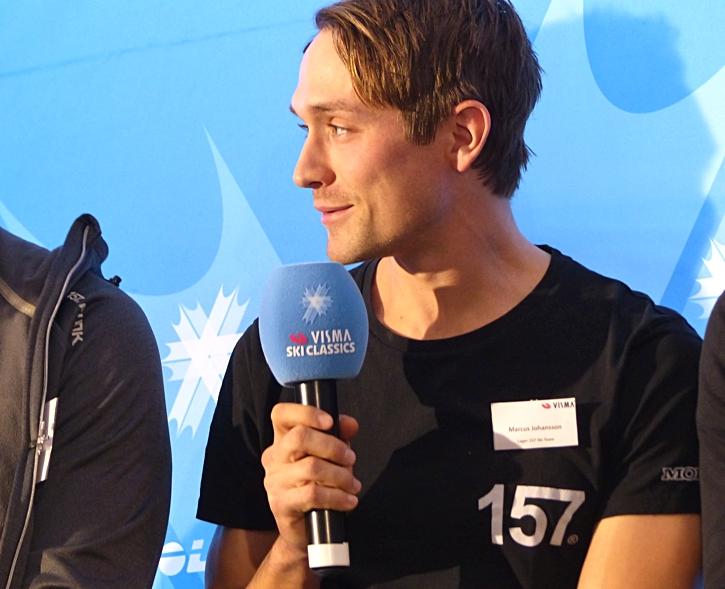Markus drömmer om att en gång vinna Vasaloppet. FOTO: Johan Trygg/Längd.se.