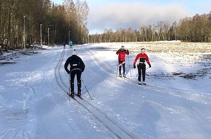 17:e upplagan av Stråkenloppet i Mullsjö kan genomföras på söndag tack vare konstsnö. FOTO: Lars Grehn.