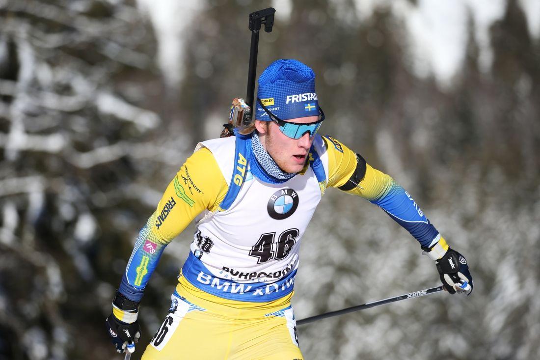 Sebastian Samuelsson åkte in som tia på sprinten i Ruhpolding, Tyskland. FOTO: Mathias Mandl/GEPA pictures/Bildbyrån.