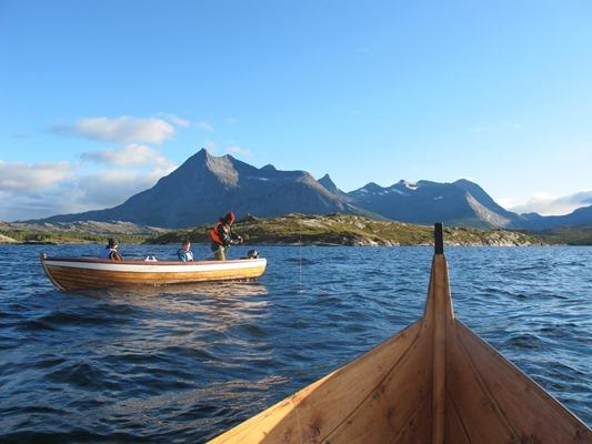 Fjordidyll, foto Halvard Toften