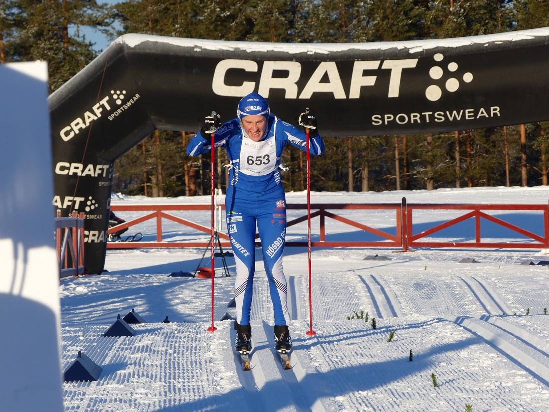 Lena Viklund stakade mot överlägsen seger. FOTO: Johan Trygg/Längd.se.