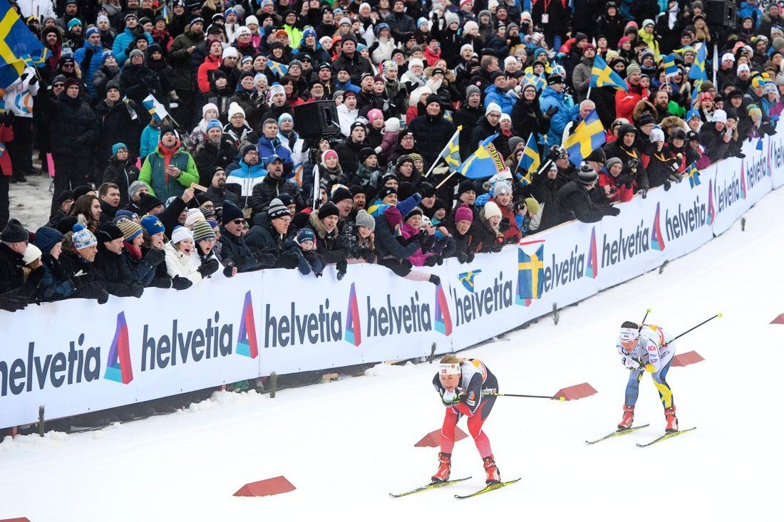 2017 var världscupen i Ulricehamn både en tävlings- och publiksuccé. Nu har västgötarna bäddad för en ny fest till kommande helg. FOTO: Carl Sandin/Bildbyrån.