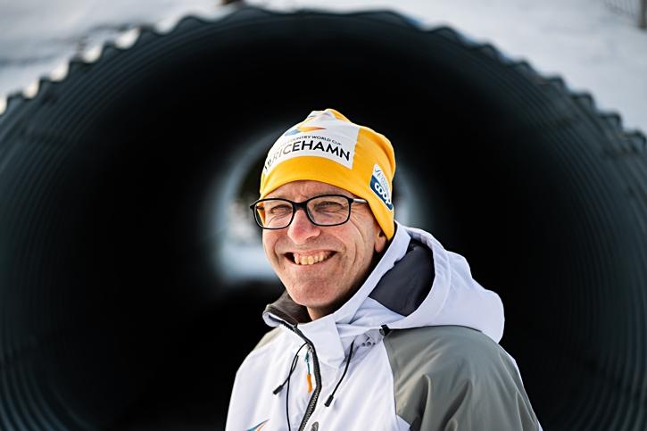 World Cup-VD:n Johan Falk kunde glatt konstatera att var säkrad för ett par veckor sedan. FOTO: Mathias Bergeld/Bildbyrån.