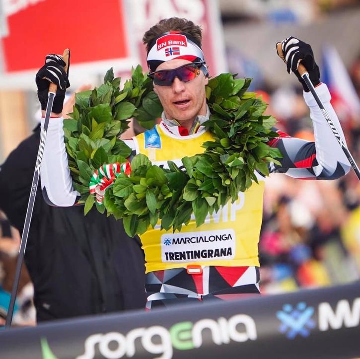 Petter Eliassen malde ner konkurrenterna i Marcialonga. FOTO: Magnus Östh.