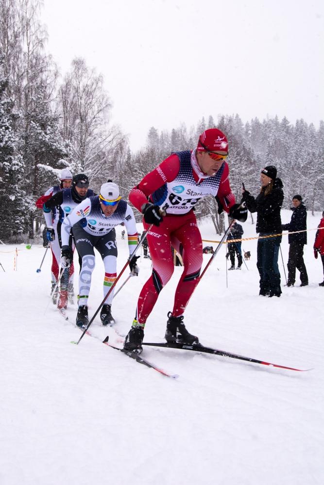 Anders Svanebo visade att takterna sitter i och åkte hem segern. FOTO: Matfors SK.