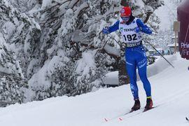 Eric Rosjö gjorde sitt bästa lopp i karriären på SM-loppet över 15 kilometer klassiskt idag. Det slutade med en fin fjärdeplats för smålänningen som tävlar för IFK Mora SK. FOTO: Johan Trygg/Längd.se.