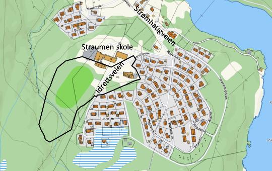Planområde ny barnehage
