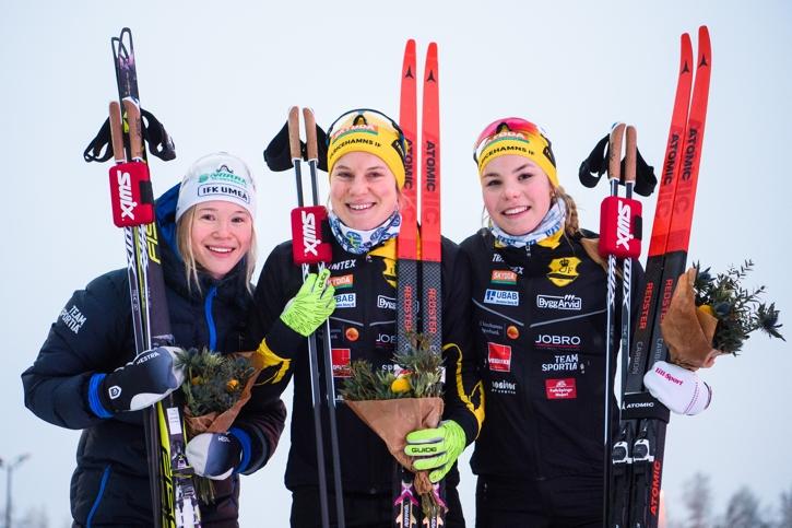 Jonna Sundling, Hanna Falk och Johanna Hagström. FOTO: Simon Hastegård/Bildbyrån.