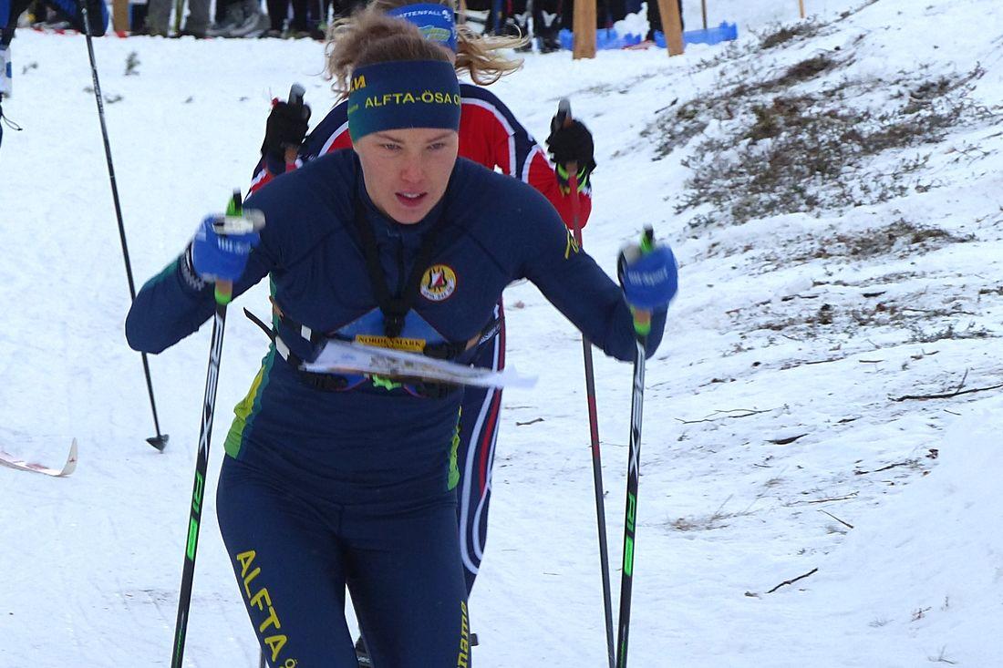 Tove Alexandersson är redo för EM i skidorientering som inleds i Turkiet på onsdag. Tävlingarna går på över 2000 meters höjd. FOTO: Johan Trygg/Längd.se.