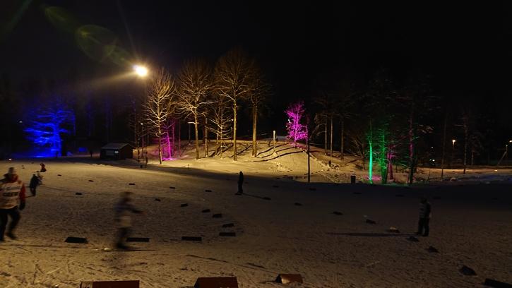 Härlig miljö under XC Games event race. FOTO: Borås SK.