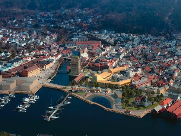 Kommuneplan for Egersund sentrum