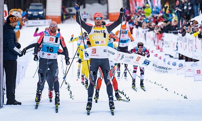 Som så många gånger förr var Andreas Nygaard starkast i spurten. FOTO: Tom-William Lindström.