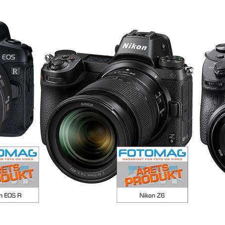 Canon EOS R, Nikon Z6 og Sony A7 III konkurrerer på målfoto om interessen blant de nye fullformat speilreflekskameraene.