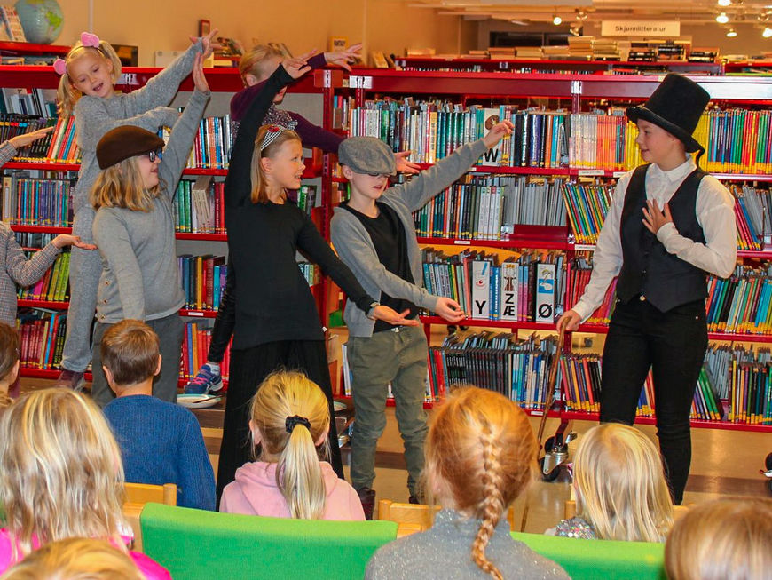 Arrangement på biblioteket